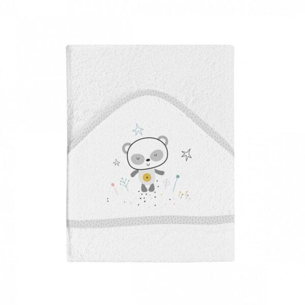 Bimbidreams Maxicapa de Baño Panda Bimbi Chic