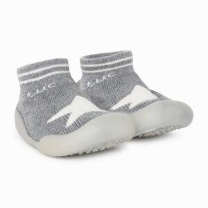 Zapato Calcetin Primeros Pasos Tuc Tuc Gris Boomtic